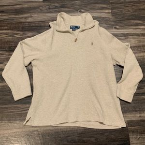 Polo by Ralph Lauren Tan Pullover Mens Size XXL